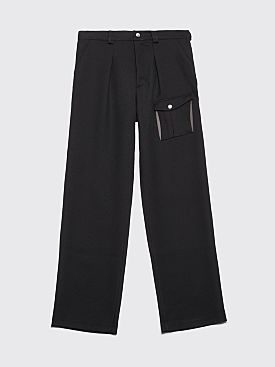 Kiko Kostadinov Kafka Pocket Pants Pitch Black
