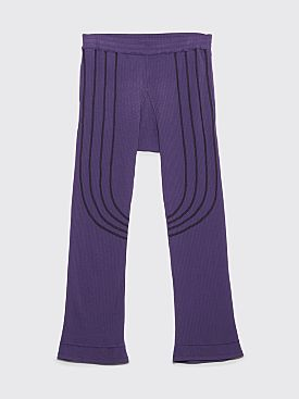 Kiko Kostadinov River Pants Plum Purple