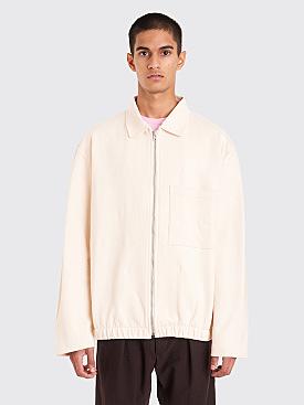 Lemaire Jersey Jacket Ecru