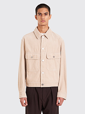 Lemaire Cord Jacket Clay