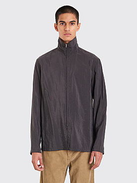 Lemaire Zipped Shirt Anthracite