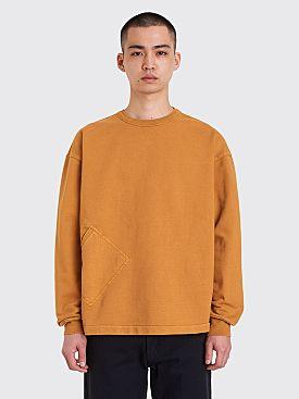 Lemaire Sweatshirt Ochre
