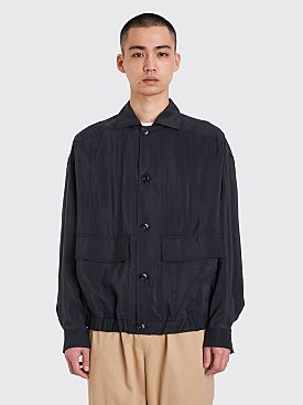 Lemaire Oversized Blouson Midnight Blue