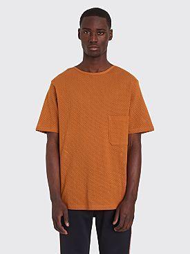 Lemaire x Sunspel Mesh T-shirt Orange