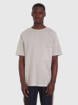 Lemaire x Sunspel Mesh T-shirt Grey