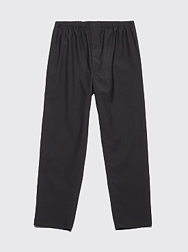 Lemaire Elasticated Pants Coal
