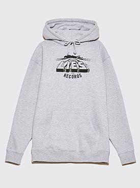 L.I.E.S. Logo Hooded Sweatshirt Grey