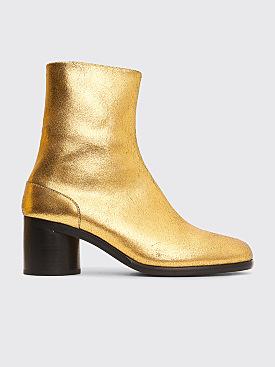 Maison Margiela Tabi Ankle Boots Rich Gold