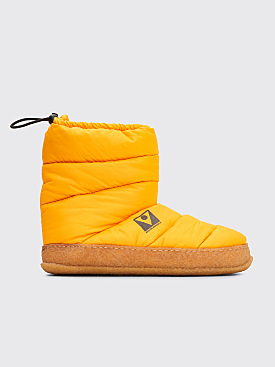 Maison Margiela Puffer Ankle Boots Yellow
