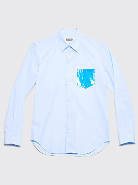 Maison Margiela Pocket Shirt Light Blue