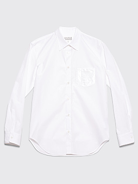 Maison Margiela Pocket Shirt White