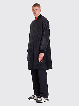 Maison Margiela Hairy Wool Coat Grey