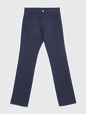 Maison Margiela 5-Pocket Classic Pants Navy