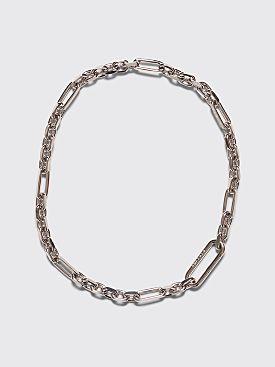 Maison Margiela Chain Necklace Silver