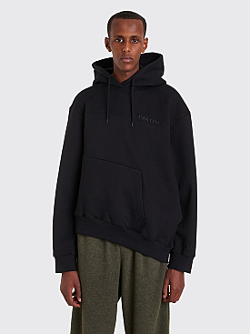 Martine Rose Twist Hooded Sweatshirt Black