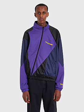 Martine Rose Twist Track Top Purple / Black