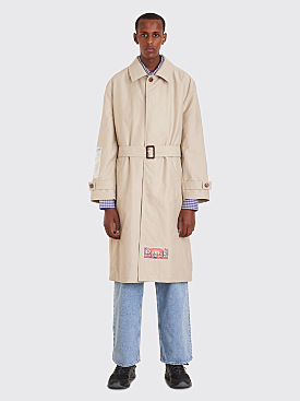 Martine Rose Car Coat Beige