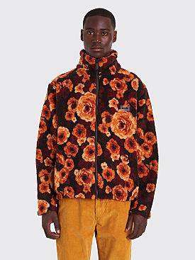 Napa by Martine Rose T-Emin Jacquard Fleece Jacket Fantasy