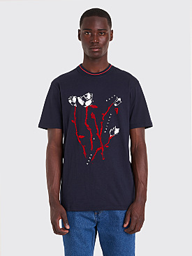 Napa by Martine Rose S-Osorno T-shirt Navy