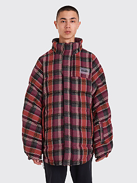 Napa by Martine Rose Acho Reversible Puffer Jacket Maroon