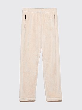 Needles Sportswear String Trousers Off White