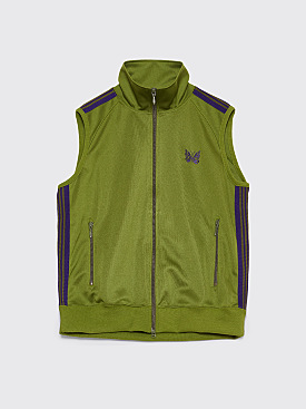 Needles Track Vest Light Green
