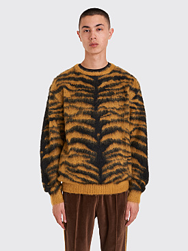 Needles Mohair Sweater Tiger Gold