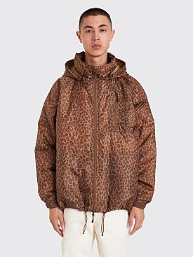 Needles C.E. Down Jacket Leopard Print