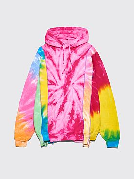 Rebuild by Needles 5 Cuts Hooded Sweatshirt Multicolor