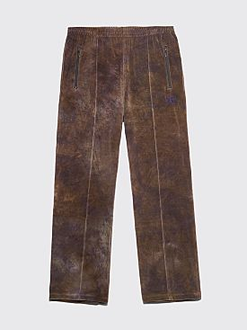 Needles Track Pants Velour Dye Olive