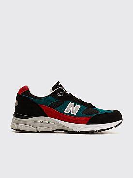 New Balance M991.9  Black / Red / Green