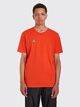 Nike ACG T-Shirt Cltr Habanero Red / Bright Citron