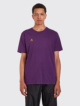 Nike ACG T-Shirt Cltr Night Purple / Bright Mandarin