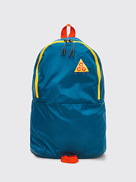 Nike ACG Packable Backpack Geode Teal / Habanero Red