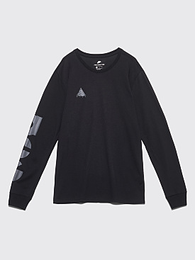 Nike Sportswear ACG Long Sleeve T-shirt Black / Black