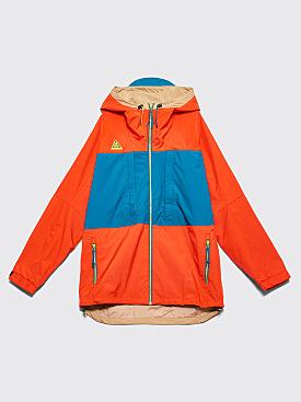 Nike Sportswear ACG Anorak Habanero Red / Geode Teal