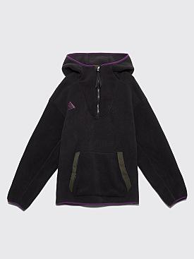 Nike ACG Sherpa Fleece Hooded Sweatshirt Black