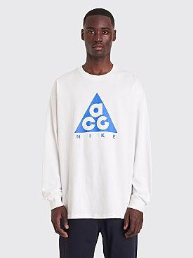 Nike ACG NRG Logo Longsleeve T-shirt White