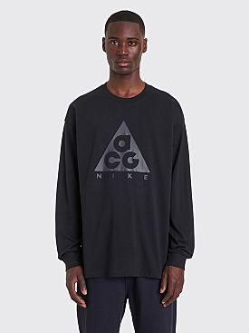 Nike ACG NRG Logo Longsleeve T-shirt Black
