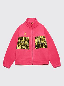 Nike ACG Fleece Jacket Rush Pink / Opti Yellow