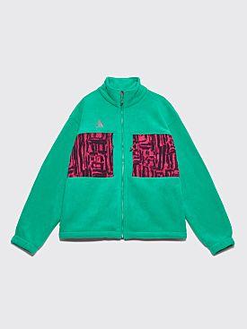 Nike ACG Fleece Jacket Lucid Green / Rush Pink