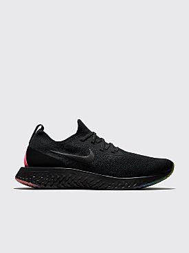 Nike Sportswear Epic React Flyknit 'Be True' Black / Black / Pink Blast