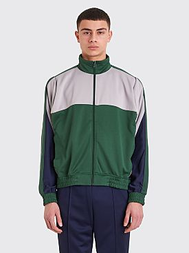 NikeLab x Martine Rose Track Jacket  Blackened Blue / Green
