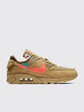 Nike x Off-White The 10: Air Max 90 Parachute Beige / Bright Mango