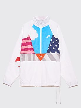 Nike x Parra Hypercool Half-Zip Warm Up Track Suit White / Multi Color