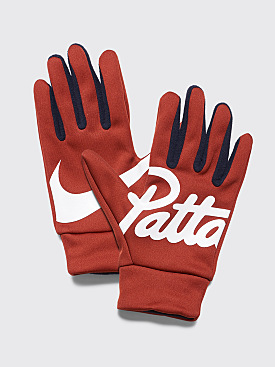 NikeLab x Patta Gloves Mars Stone / Dark Obsidian