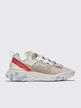 Nike Sportswear React Element 87 Sail / Light Bone / White