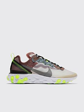 Nike Running React Element 87 Desert Sand / Cool Grey / Smokey Mauve