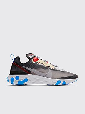 Nike Running React Element 87 Dark Grey / Pure Platinum / Photo Blue