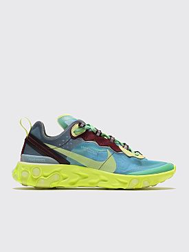 NikeLab Energy React Element 87 Undercover Lake side / Electric Yellow